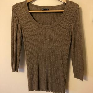 GAP fitted 3/4 sweater